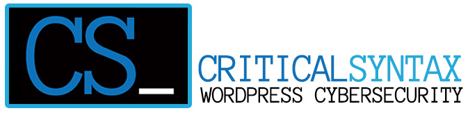 WordPress Cyber Security Pittsburgh | Critical Syntax